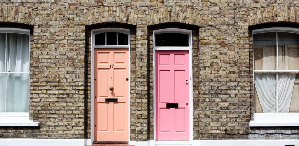 Landlord Tenant Door