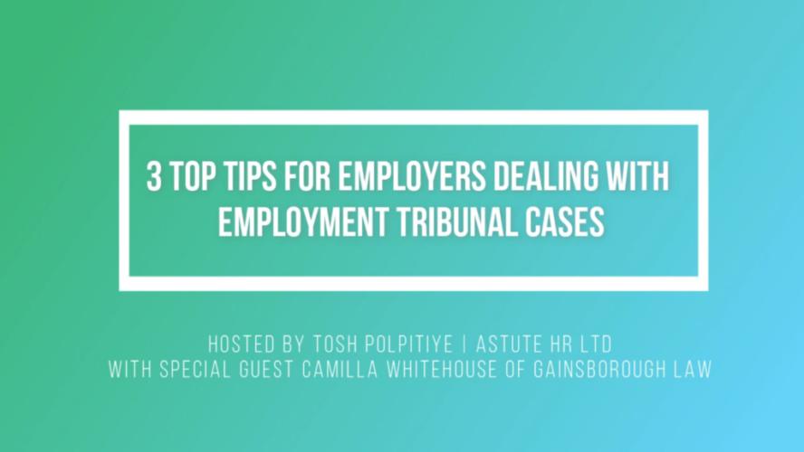 Employment Tribunal Podcast